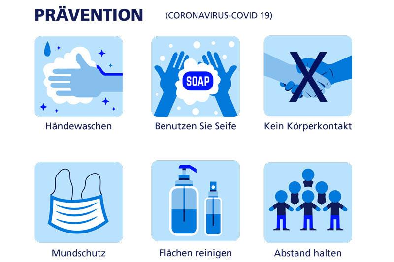 Kontaktschutz Covid-19